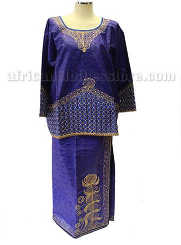 taifabricsafricanwomenclothesredbrocadewembroidery