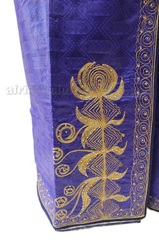 taifabricsafricanwomenclothesredbrocadewembroidery3