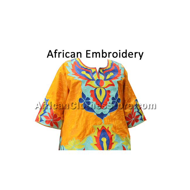 How to care for embroidered African clothes